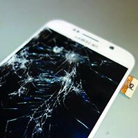 Defektes LCD Displaymodul Samsung